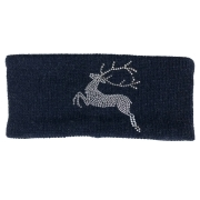 Steffner Bella Ski Headband in Navy