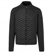 Maksim Mens Knitted Midlayer in Black