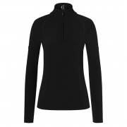 Madita Womens Fleece Midlayer in Black