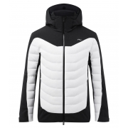 Sight Line Mens Jacket in Black and White