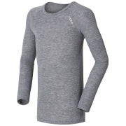 Odlo Warm Kid Longsleeve Ski Thermals Top in Grey