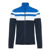 Moffit Mid Jacket Tech Jersey Midlayer in Pop Blue