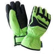Bogner Bane Boys Ski Glove in Apple