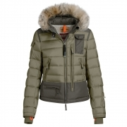 Skimaster Womens Jacket in Military