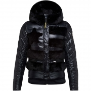 Drawi Down Womens Jacket in Black