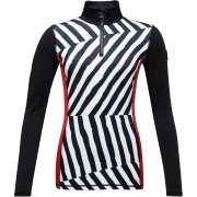 Bessi PR Womens Baselayer Top in Optical Oblic