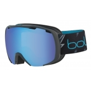 Royal Kids Ski Goggle in Matte Black Flash with Aurora Lens