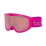 Rocket Kids Ski Goggle in Matte Pink Bear With Vermillon Lens