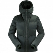 Danaide Womens Jacket in Dark Green