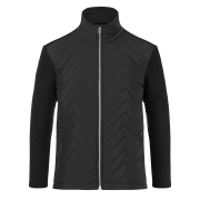 Linard Mens Midlayer in Black