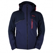 Camber Mens Ski Jacket in Navy Blue
