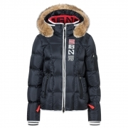 Giana D Womens Jacket in Navy