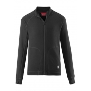 Reima Nordlig Junior Midlayer in Black