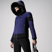 Gardena III Womens Jacket in Blue Depth