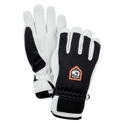 Hestra Womens Moje Czone Ski Gloves in Black