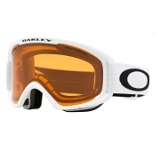 O2 XM Pro Matte White with Persimmon and Dark Grey Lenses