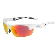 Bolle Bolt S White Grey with TNS Fire Lens