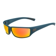 Bolle Python Matte Navy with HD Polarized Brown Fire Lens