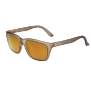 Bolle 527 Grey Crystal Matte with Polarized Brown Gold Lens