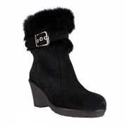 La Thuile Kuhtai Womens Winter Boot in Black