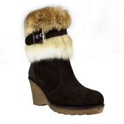 La Thuile Kuhtai Womens Winter Boot in Brown