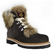 La Thuile Susten Womens Suede Winter Boot in Grey
