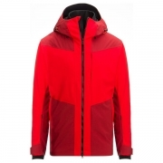 Hannes Mens Jacket in Red and Orange