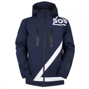 Triangle Jacket Mens Jacket in Dark Blue
