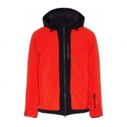 J Lindeberg Moffit Jacket Mens Ski Jacket in Racing Red