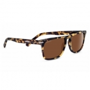 Serengeti Carlo Large Matte Black with Polarized Drivers Lens