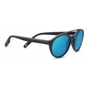 Serengeti Leandro Matte Dark Grey With Polarized 555nm Blue Lens