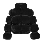 Goldbergh Paradiso Faux Fur Jacket Black
