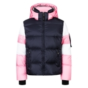 Bogner Tilly-D Girls Ski Jacket in Navy