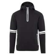 J.Lindeberg Logo Hood Midlayer in Black