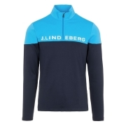 J.Lindeberg Dan Mid Layer in True Blue