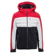 Aztech Ajax Mens Ski Jacket in Sunset Red Multi