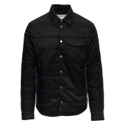 Aztech Loge Peak Mens Quilted Shirt in Space Black Multi