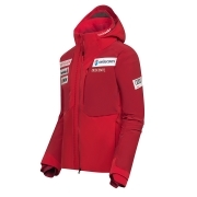 Descente Mens Swiss Team Replica Ski Jacket in Red