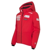 Descente Jr Swiss Replica Ski Jacket in Red