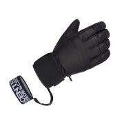 Descente Cliff Ski Glove in Black