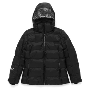 Armani EA7 Womens Bomber Ski Jacket in Black