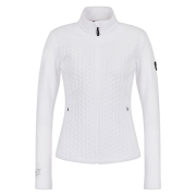 Armani EA7 Full Zip Midlayer in White