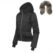 Descente Mia Womens Ski Jacket in Black