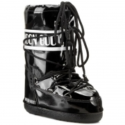 Tecnica Moon Boot Vinil Kids in Black