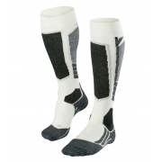 Falke SK2 Cashmere Womens Ski Socks in Off White