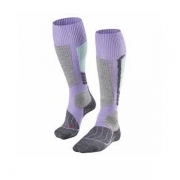 Falke SK1 Womens Ski Socks in Lavender
