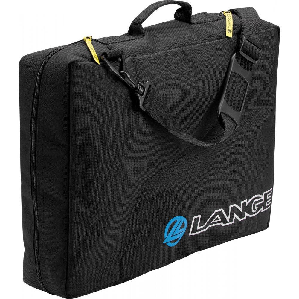 Ski Boot Bag >> Lange Basic Duo Ski Boot Bag In Black