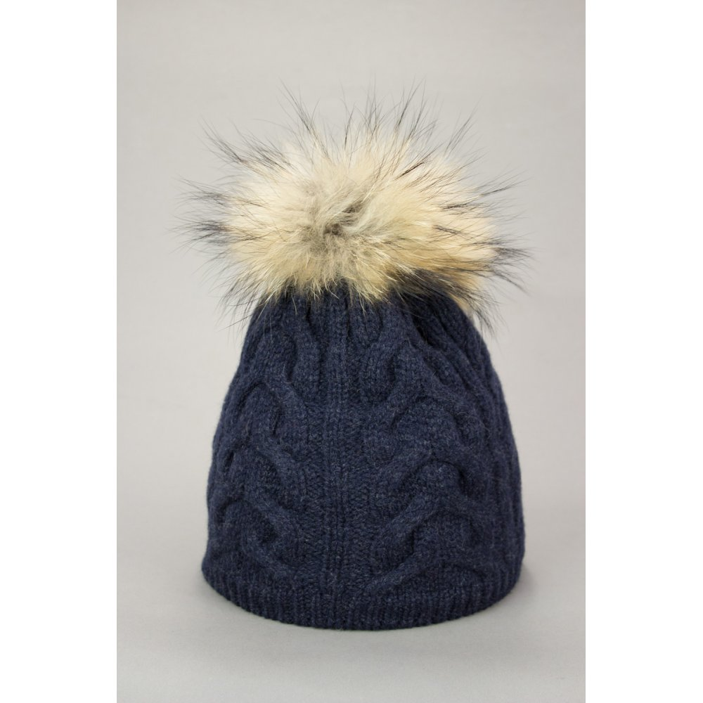 Steffner Cindy Womens Ski Hat In Navy db44db07ae4