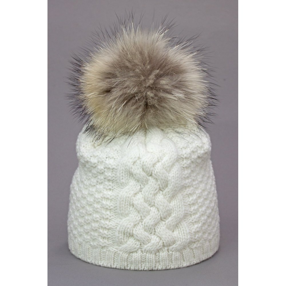c757eb1198a Steffner monte womens ski hat in off white jpg 1000x1000 Fur ski hats for  women