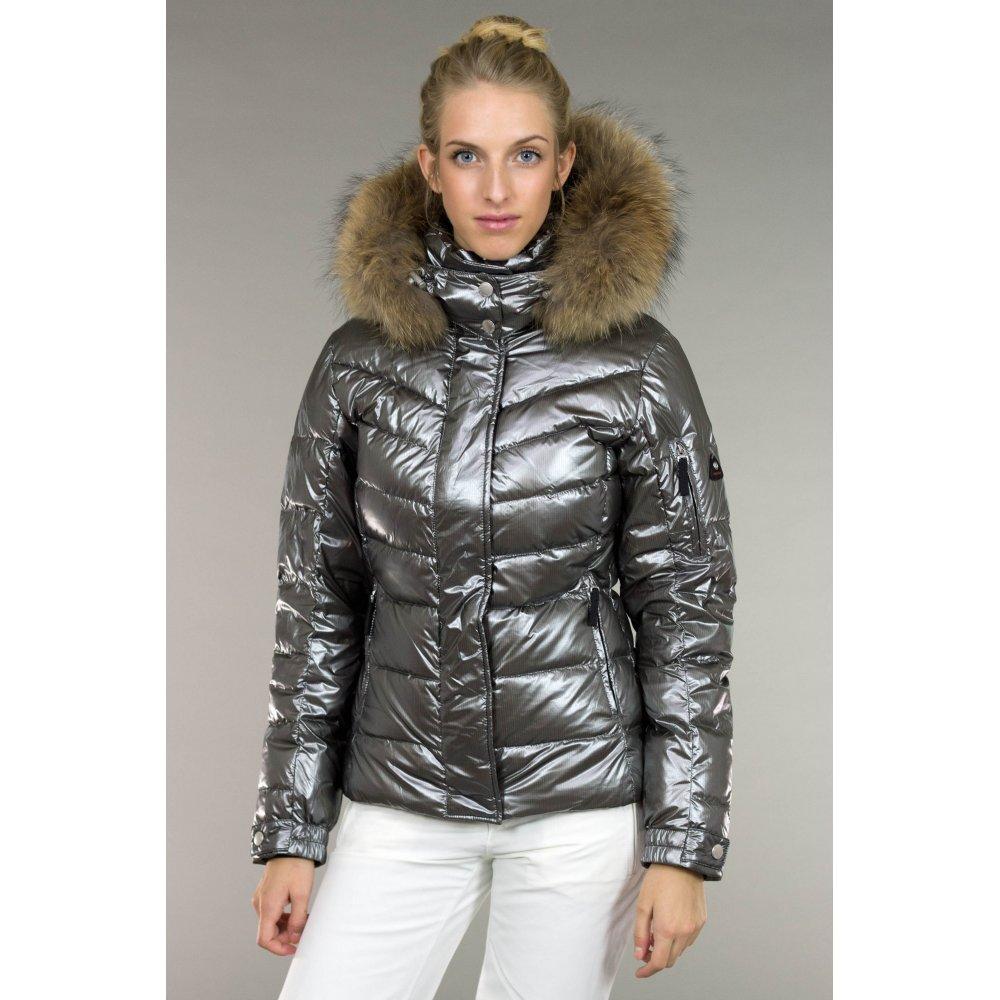 bogner sale d ski jacket premium trim edition in platinum. Black Bedroom Furniture Sets. Home Design Ideas